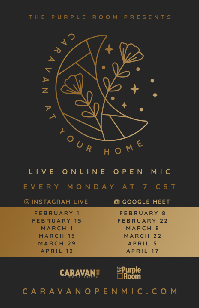 CaRaVaN at Your Home Poster & Schedule
